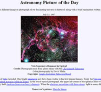 Astronomy Picture of the Da